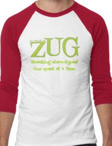 ZUG Slogan Men's Baseball ¾ T-Shirt