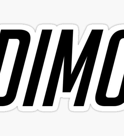 DIMO CAPITALS B Sticker