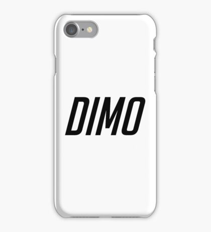 DIMO CAPITALS B iPhone Case/Skin