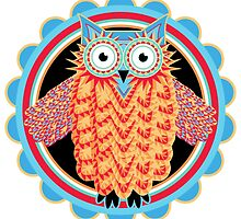 Tribal Owl by AntiqueImages