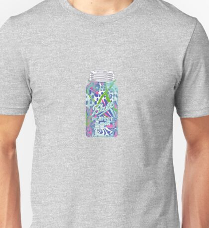 Ball Mason Jar in Lilly Pulitzer Print Unisex T-Shirt