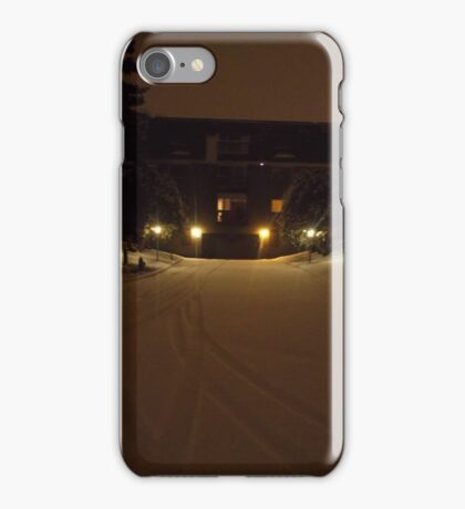 Once upon a winter in Minnesota iPhone Case/Skin