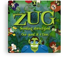 ZUG Pitch Cover. Canvas Print