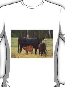 Calf drinking T-Shirt