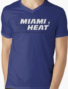 Miami Reheat Stencil Mens V-Neck T-Shirt