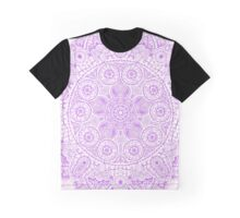 Purple Mandala Graphic T-Shirt
