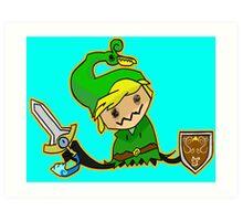 Zelda Mimikyu Art Print