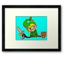 Zelda Mimikyu Framed Print
