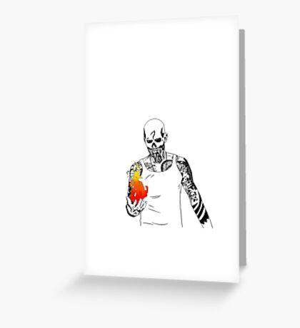 El Diablo NO BACKGROUND Greeting Card