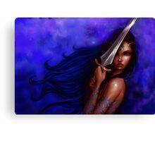 Princess of the sword Canvas Print
