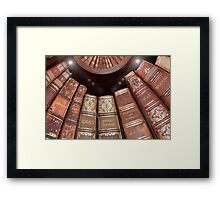 Libraries Were Full of Ideas Framed Print