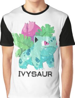 Low Poly Pokemon - 002 - Ivysaur Graphic T-Shirt