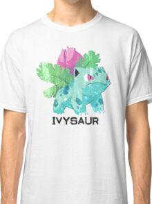 Low Poly Pokemon - 002 - Ivysaur Classic T-Shirt