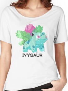 Low Poly Pokemon - 002 - Ivysaur Women's Relaxed Fit T-Shirt