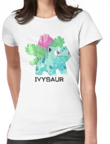 Low Poly Pokemon - 002 - Ivysaur Womens Fitted T-Shirt