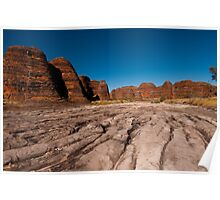 Piccaninny Creek, Purnululu National Park Poster