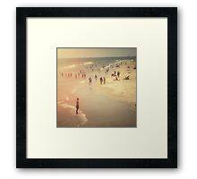 Summer Beach Day Framed Print