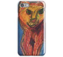 Unimpressed Impressionistic Cat iPhone Case/Skin