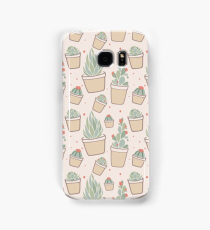 Cactus and Succulent Plants Samsung Galaxy Case/Skin