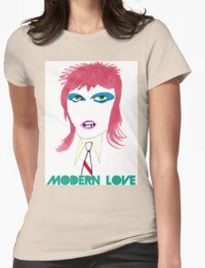 Modern Love Womens Fitted T-Shirt