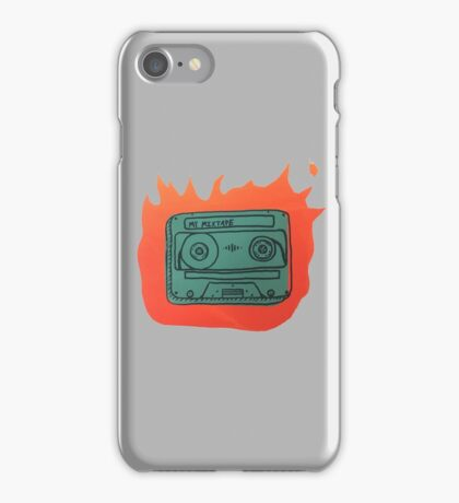 My Mix Tape Is Fire iPhone Case/Skin