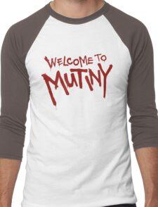 Welcome To Mutiny Men's Baseball ¾ T-Shirt