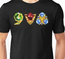 The 3 Spiritual Stones Ocarina of Time Unisex T-Shirt