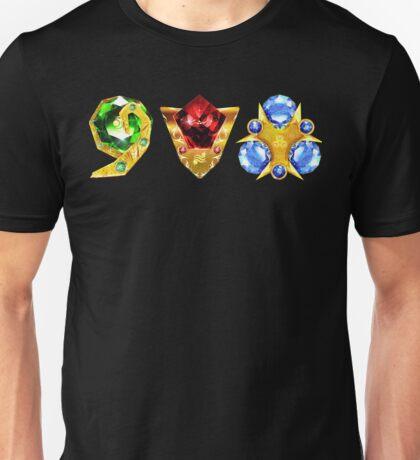 The 3 Spiritual Stones Ocarina of Time Unisex T-Shirt