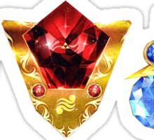 The 3 Spiritual Stones Ocarina of Time Sticker