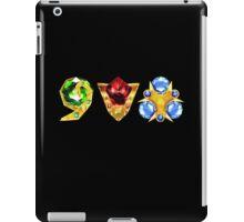 The 3 Spiritual Stones Ocarina of Time iPad Case/Skin
