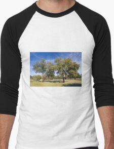 Cork oak, Monfrague Men's Baseball ¾ T-Shirt