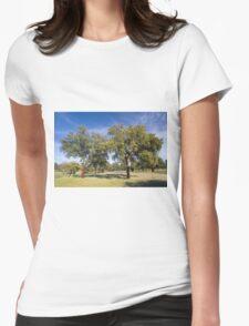 Cork oak, Monfrague Womens Fitted T-Shirt