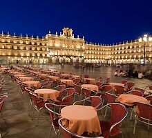 Mayor square, Salamanca by PhotoBilbo