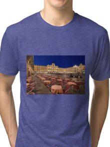 Mayor square, Salamanca Tri-blend T-Shirt