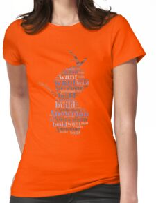 Do you want to build a snowman? Womens Fitted T-Shirt