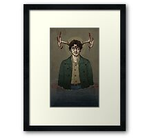 Hannibal - Locura recorre todita mi piel Framed Print