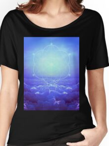 All but the Brightest Star (Sirius Star Geometric) Women's Relaxed Fit T-Shirt