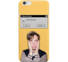 Time to get spooky! Matthew Gray Gubler iPhone Case/Skin