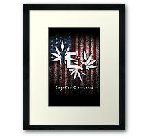 Legalize Cannabis Framed Print