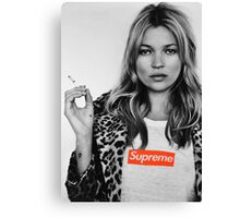 Supreme Kate Moss Canvas Print