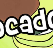 avocado dope  Sticker