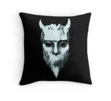 NAMELESS GHOUL - marble oil paint Throw Pillow