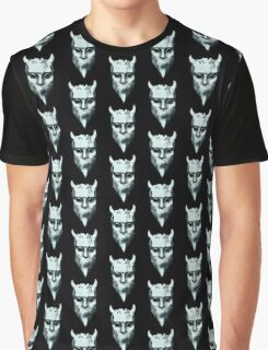 NAMELESS GHOUL - marble oil paint Graphic T-Shirt