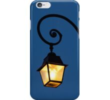 Streetlamp in Fontainebleau iPhone Case/Skin