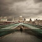 Dark Day - St Paul's Cathedral by Ursula Rodgers Photography