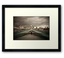 Dark Day - St Paul's Cathedral Framed Print