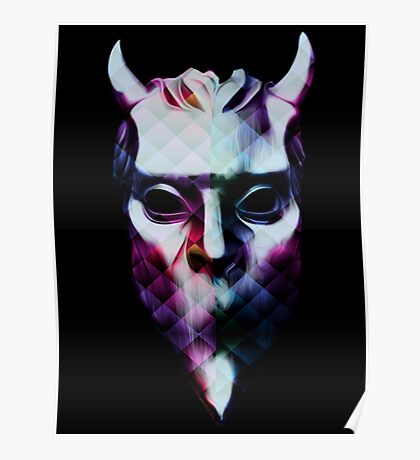FANCY NAMELESS GHOUL - prism Poster