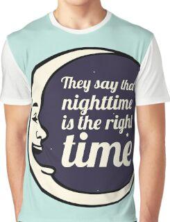 Bob Dylan Song Lyrics Inspired Art Graphic T-Shirt