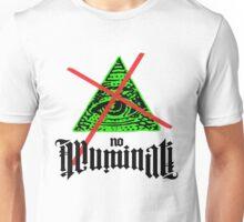 No Illuminati Green Unisex T-Shirt
