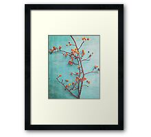 She Hung Her Dreams on Branches Framed Print